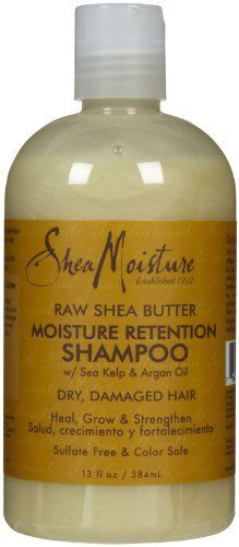 Shea Moisture Organic Raw Shea Butter Moisture Retention Shampoo by SheaMoisture: I LOVE Shea Moisture Shampoos. Everytime I decide I want to try another shampoo, my search leads me back to Shea Moisture. Can't wait to try out this type. My hair needs more moisture!