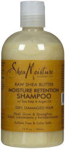 Shea Moisture Organic Raw Shea Butter Moisture Retention Shampoo by SheaMoisture: I LOVE Shea Moisture Shampoos. Everytime I decide I want to try another shampoo, my search leads me back to Shea Moisture. Can't wait to try out this type. My hair needs more moisture!