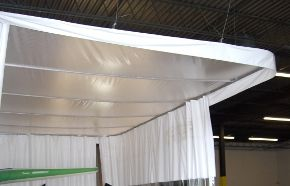 Automotive Shop Enclosures are designed to contain harmful odors, contaminants and overspray in the workplace in order to comply with government requirements for worker safety. Find out more at http://www.amcraftindustrialcurtainwall.com/products/autobody-shop-curtains/