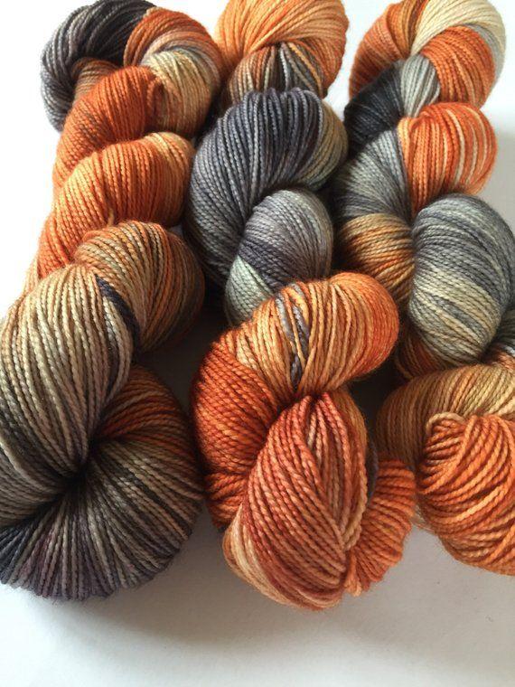 purple orange Linen thread Set of 8 linen skeins -pink green