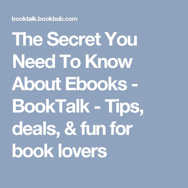 23 best books worth reading images on pinterest 2017 challenge the secret you need to know about ebooks fandeluxe Gallery