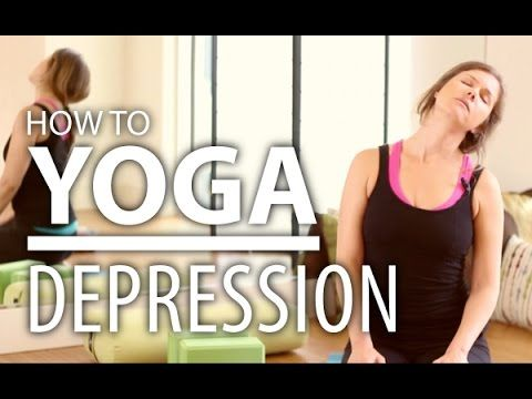 Yoga To Make You Happy! Full 30 Minute Energizing Yoga Flow For Depression & Stress - YouTube