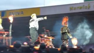 Relight my Fire - Take That at Carrow Road.  Live at Carrow Road Norwich on Thursday 15th June 2017.