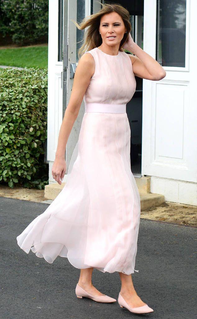 Image result for melania trump dress