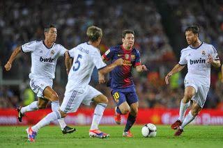 Hasil Liga Spanyol El_Clasico, Barcelona kalahkan Real Madrid 2-1