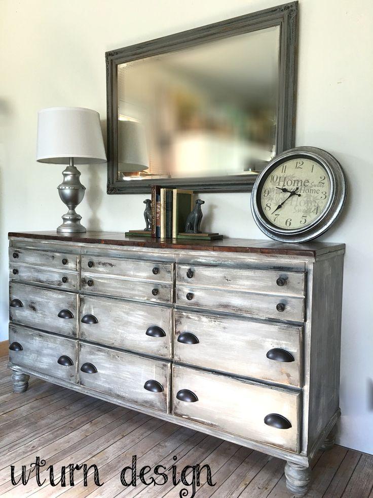25 best ideas about rustic dresser on pinterest for Diy rustic bedroom set