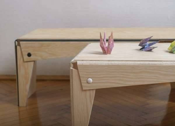 Gergely Kiss Gal Tasarımı, Katlanmış #origami Eşyalar