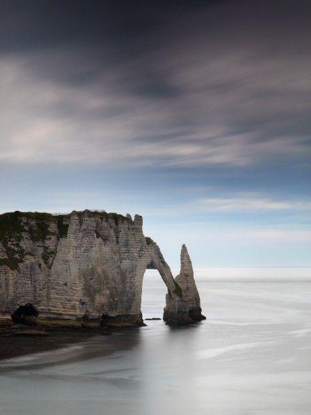 Etretat Cliff, Normandy / France. By Nina Papiorek: France By Nina, Nina Papiorek Repin, Papiorek Repin By Pinterest, Cliff Diving, L Aiguile D Étretat, Normandy