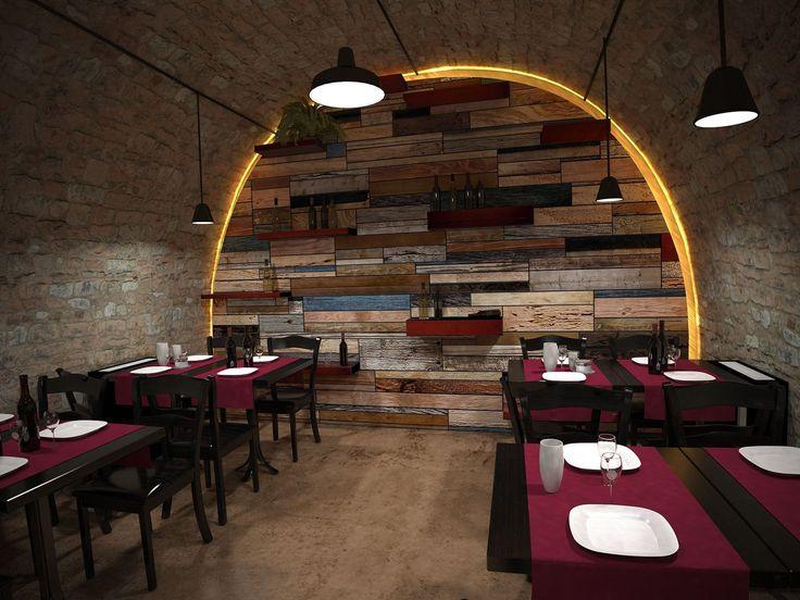 Conception D'intérieur De Restaurant Chic À Téhéran