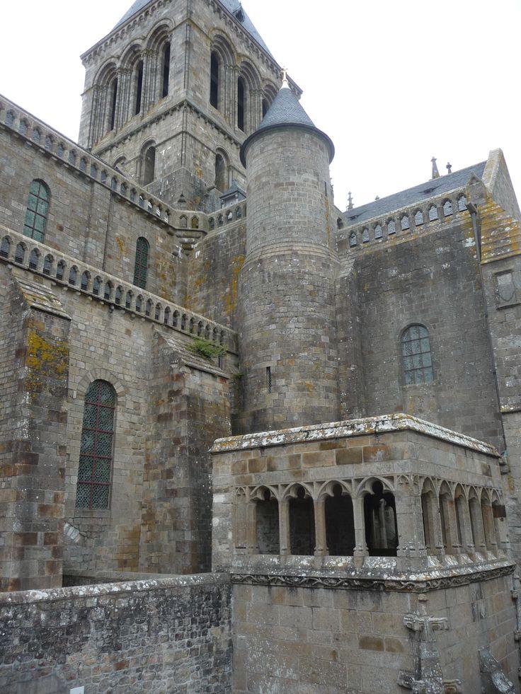 Mont Saint Michel por dentro.