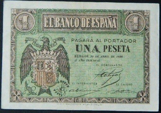 Spain - 1938. - GC - 1 p, 1938