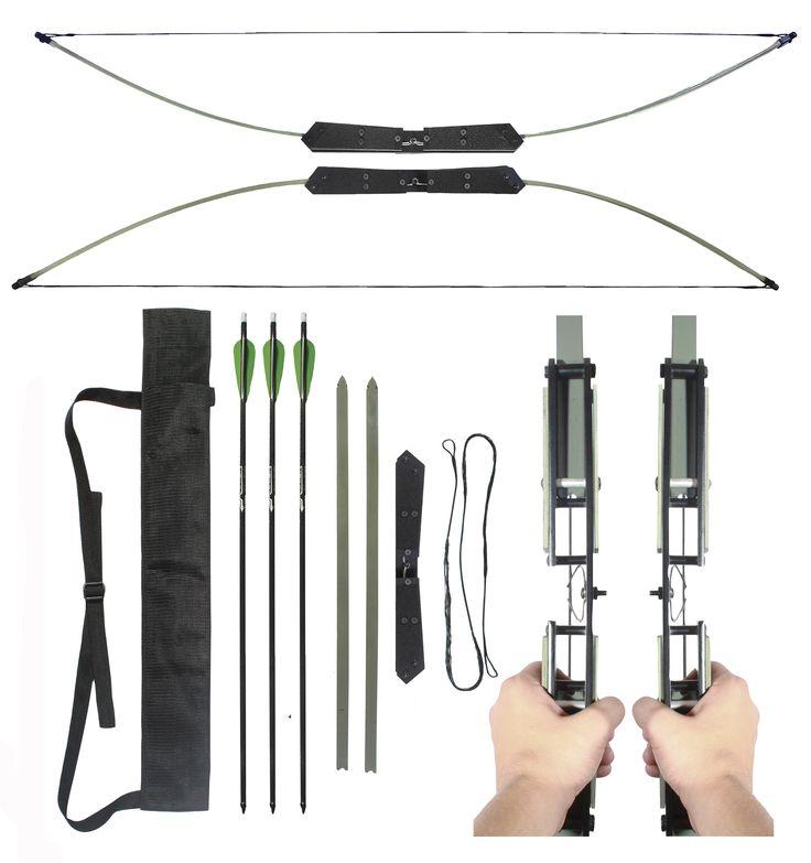 Rapture Universal Compact Take - Down Bow and arrow set 40/50