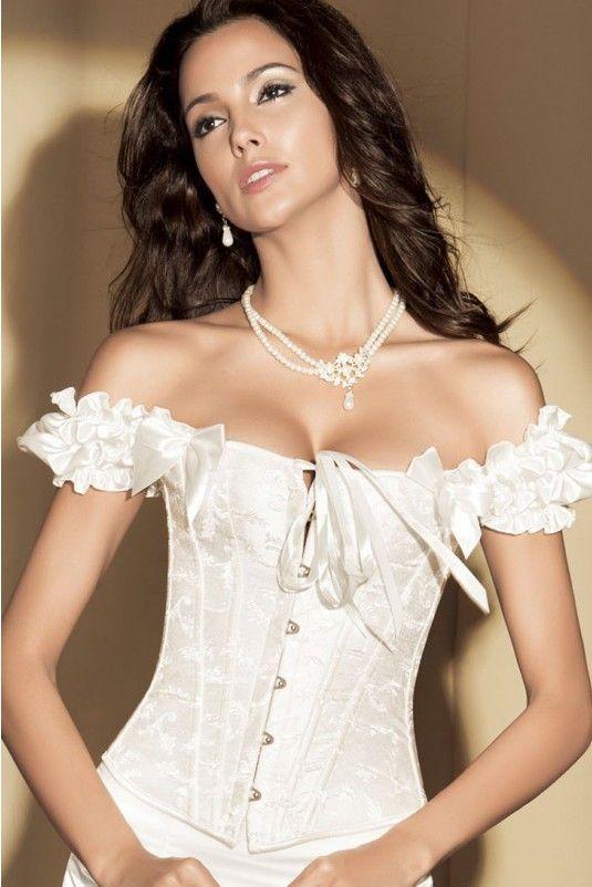 Corset Blanco Alison C322