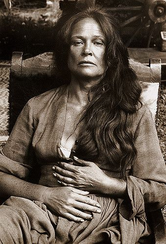 Colleen Dewhurst, portrait, 'The Cowboys', 1971  Archival Prints Available At:  www.willoughbyphotos.com