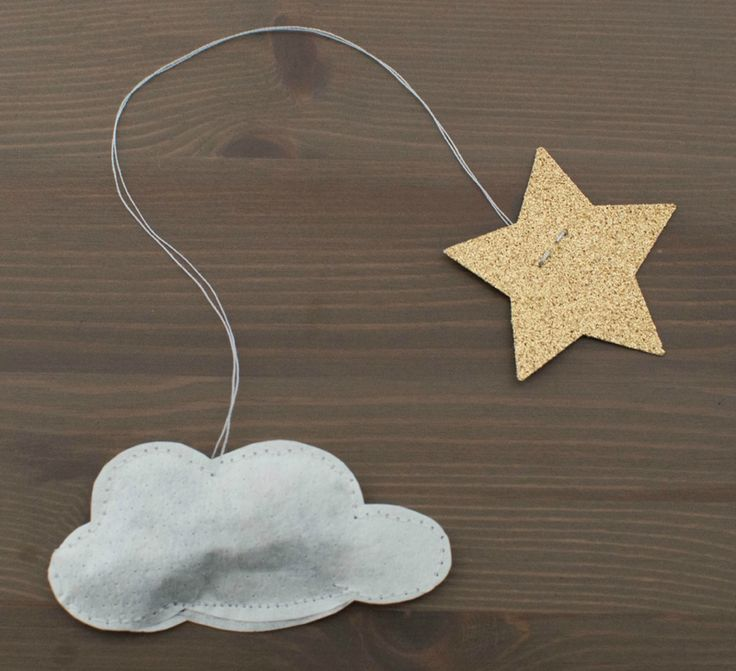 I wonder if there's a way to make this into a tea infuser!?! Cloud and star sachet