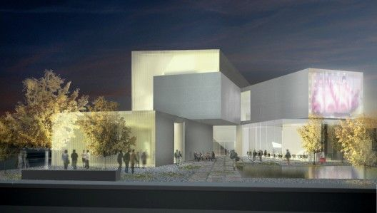 Steven Holl Architects / VCU Institute for Cotemporary Art at Meulensteen Gallery