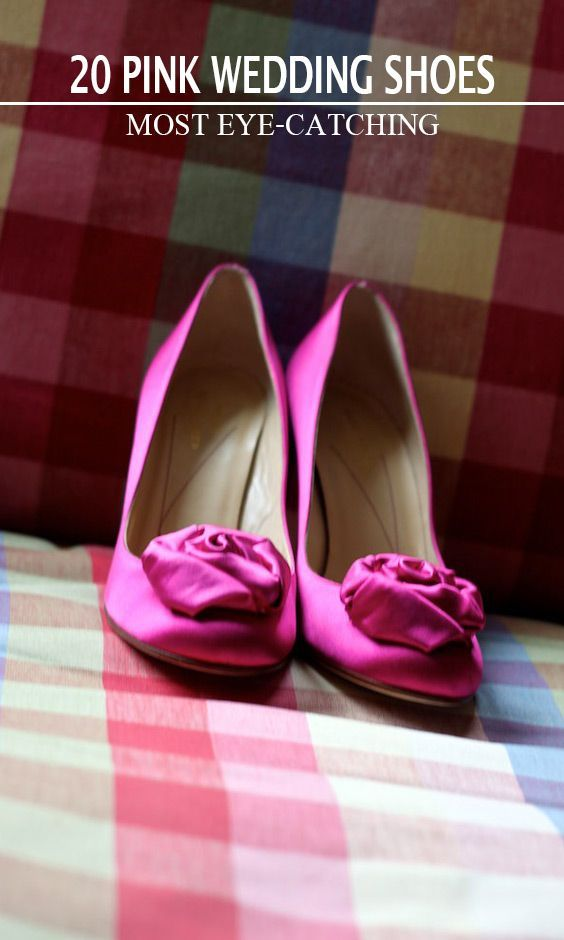 aae0ec7f8 20 Most Eye-catching Pink Wedding Shoes. Here we have latest collection for  you