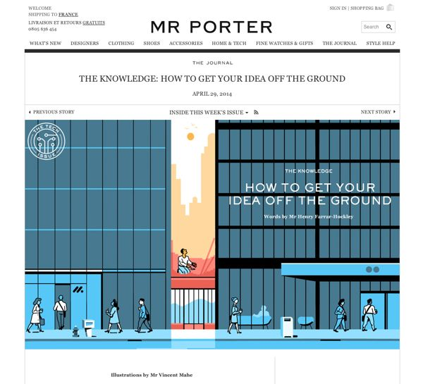 Mr Porter - How to get your idea off the ground