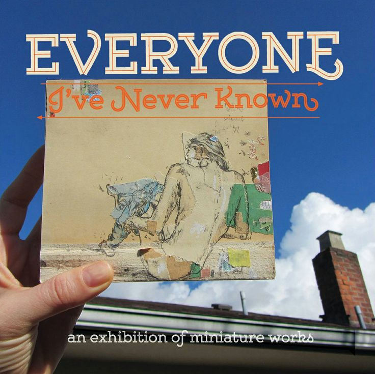"Upcoming: At The Burrard Hotel Vancouver, ""Everyone I've Never Known"" - an exhibition of miniature works. #PhantomsNeverKnown"
