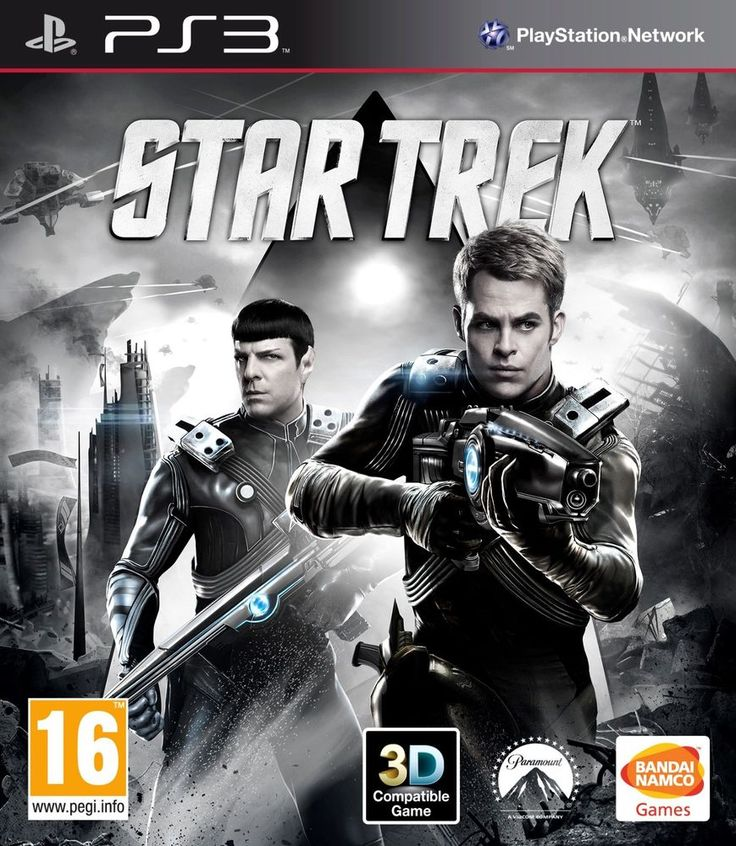 STAR TREK PlayStation 3 GAME PS3