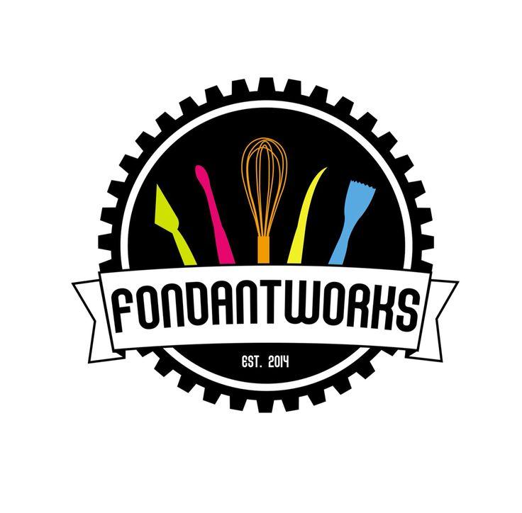 Fondant Works Logo | Cafe | Bakery