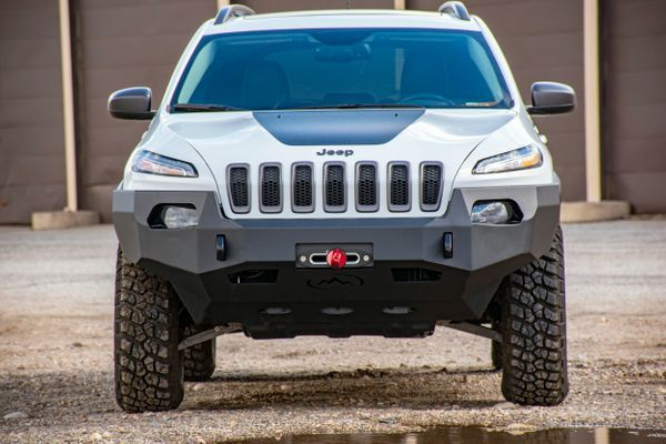 Kl Cherokee Front Bumper Expedition One Jeep Cherokee