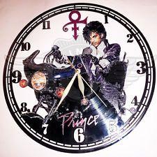 VINYL PLANET Wall Clock Roger Nelson PRINCE 5