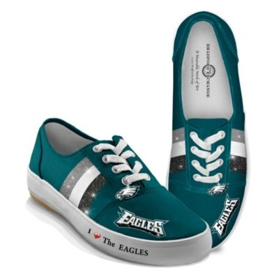 I Love The Philadelphia Eagles Womens Shoes
