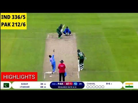Full Highlights I India vs Pakistan World Cup 2019: India