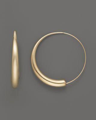 af0595a01 Hoop Earrings Large Gold Black Diamond Hoop Earrings Kay Jewelers ...