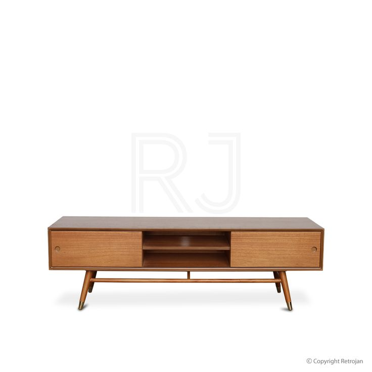 Theodor Scandinavian Style AV Unit - Sit back, relax and have a glass of wine. Theodor welcomes you back home with its clean lines, angled copper legs and sturdy demeanour. Designed to keep your DVDs, magazines and messy cords away from prying eyes, our Theodor AV Unit will guard them closel