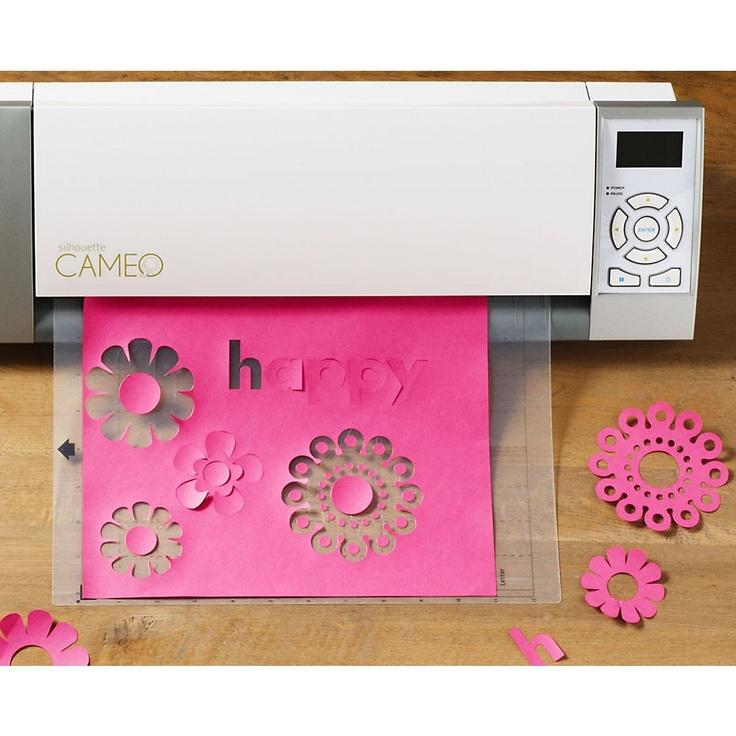 The Silhouette Cameo Electronic Cutting Tool Is Your