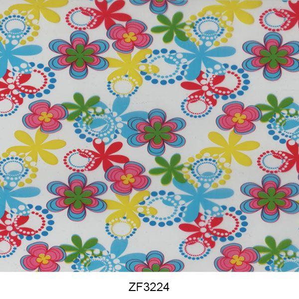 Hydro printing film flower pattern ZF3224