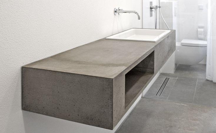 98 besten beton pur und sch n bilder auf pinterest badezimmer g ste wc und wohnideen. Black Bedroom Furniture Sets. Home Design Ideas