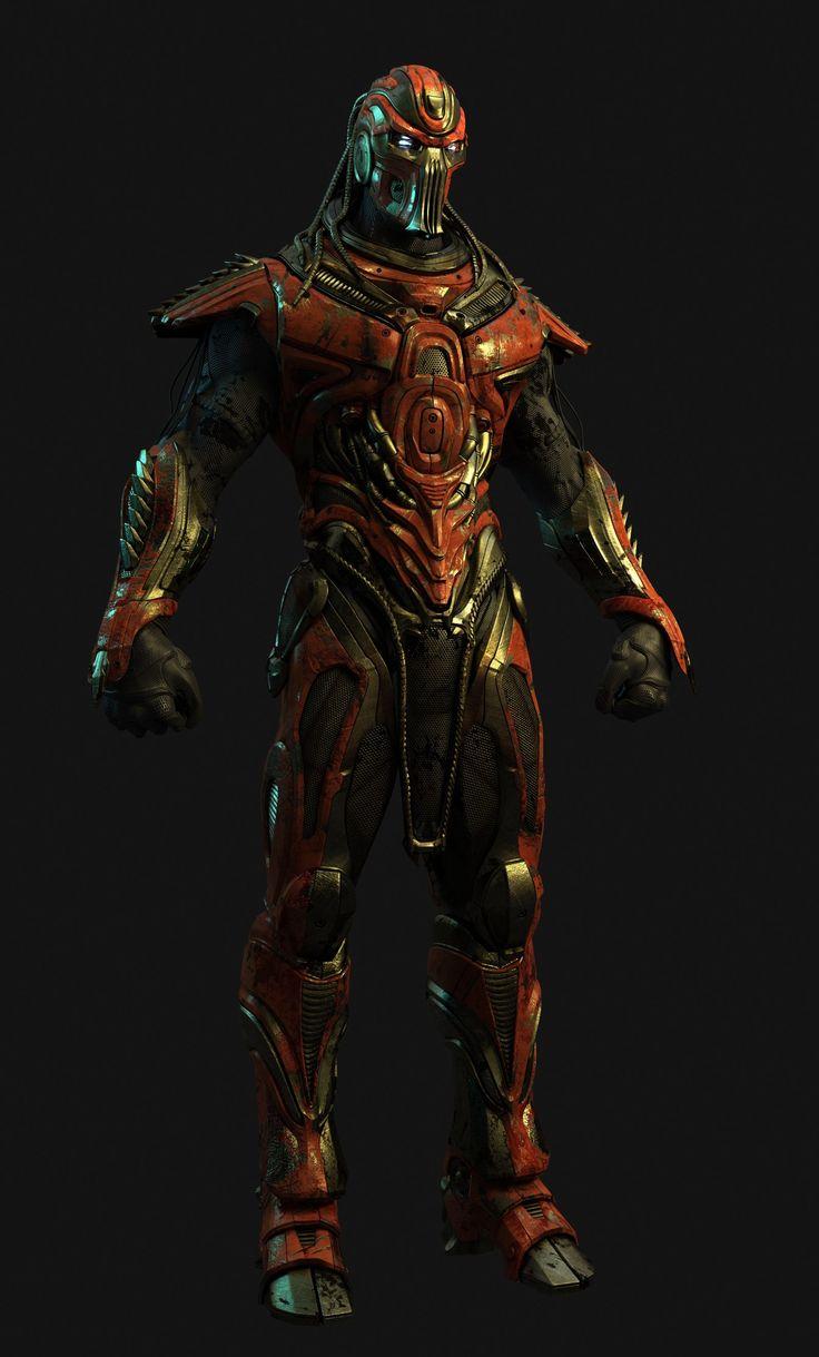 Mortal Kombat X - Scorpion Fan - Buy Royalty Free 3D model