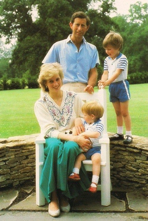 """Just wanna share some pictures of our beloved """"People's Princess"""". [Lady Diana with Prince Harry and Prince William] [Lady Diana with Prince William] [Lady Diana with Prince Harry…"""