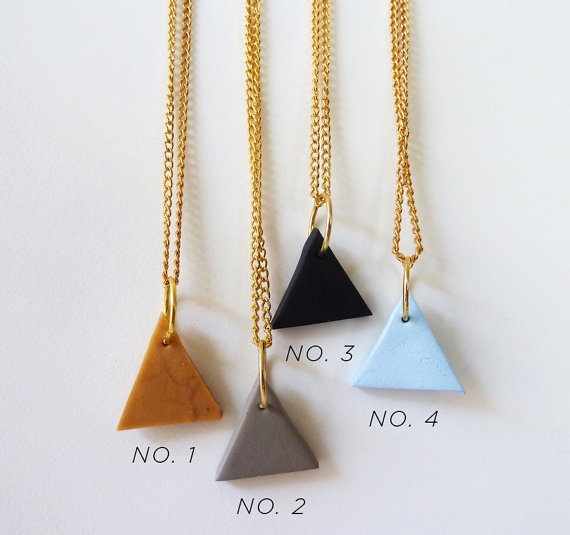 This etsy store has so many cute geometric jewelry!