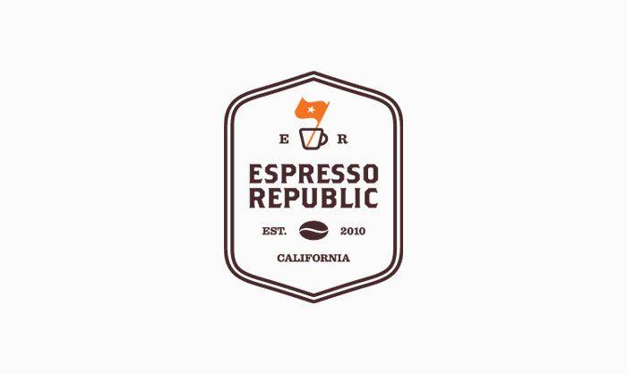 Espresso RepublicSalih Kucukaga, Identity, Logo Design, Espressorepubl, Salihkucukaga, Republic Logo, Graphics Design, Brand, Espresso Republic