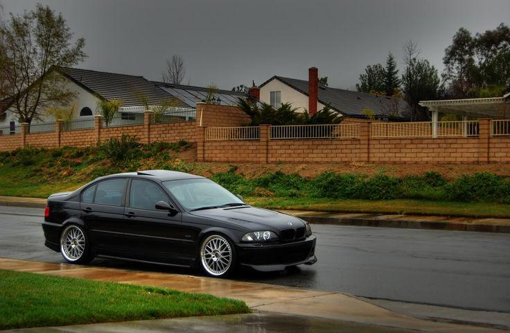 Let Me See Some Slammed E46 BMW Sedans Please