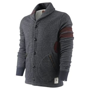 Nike BB51 Collection Shawl Collar Men's Cardigan (arm patches too!)