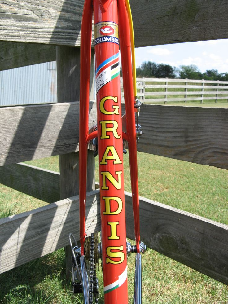 Custom Grandis decal Velocals Trek bicycle decal / custom bike decal  Decals made to order shipped internationally for restoration projects, races, and customization
