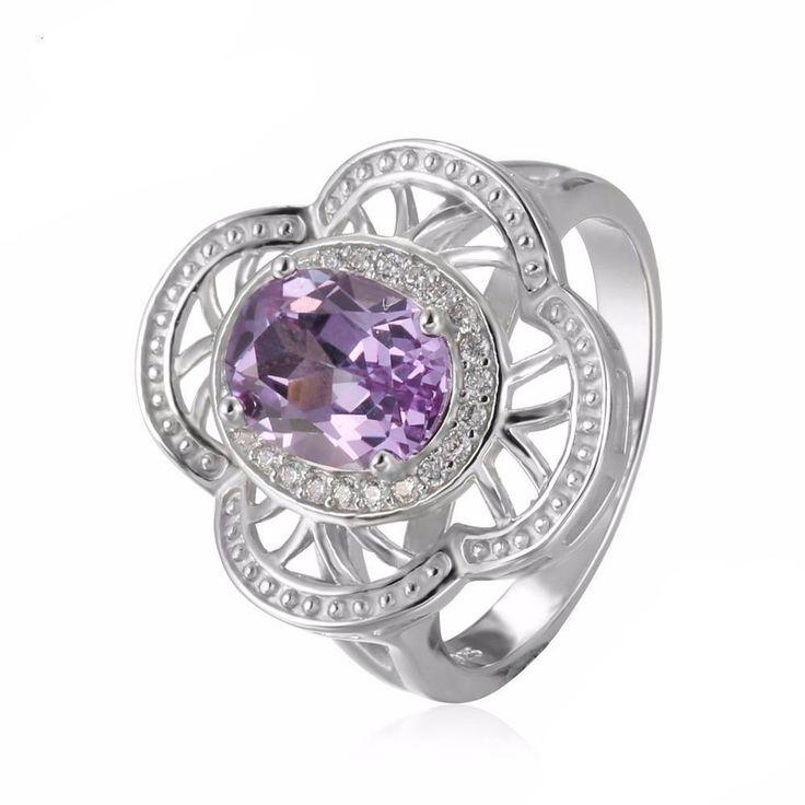 Blondelle Oval Alexandrite Ring