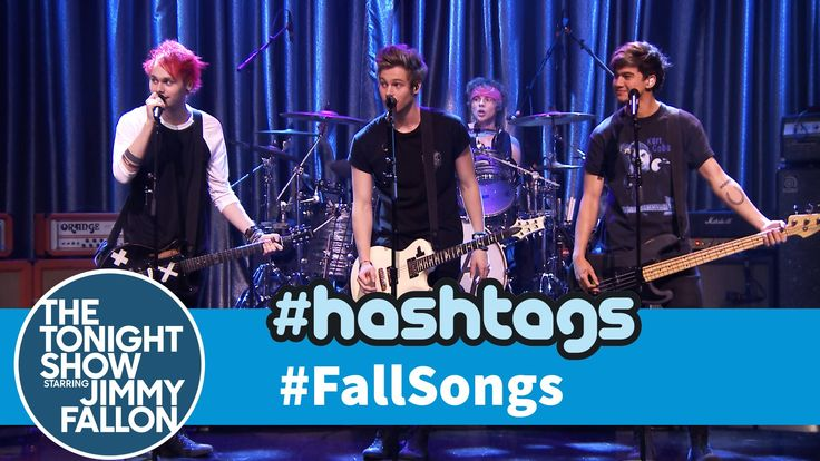 In honor of fall arriving, Jimmy gets help from 5 Seconds of Summer to sing his favorite tweets with the hashtag #FallSongs. Subscribe NOW to The Tonight Sho...