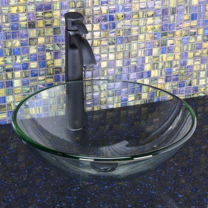 Otis Single Lever Vessel Bathroom Faucet,