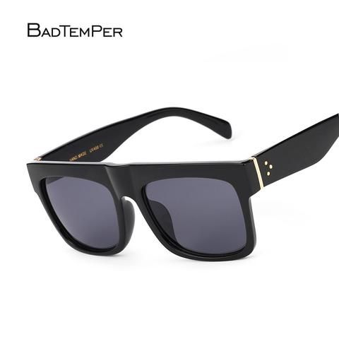 2c4ae3e72a27f1 Badtemper Retro Gradient Lens SunGlasses women men Luxury Brand Designer  Vintage Sun glasses Oversize Eyewear UV400