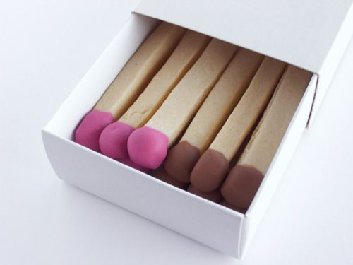 matchstick cookies. fun!