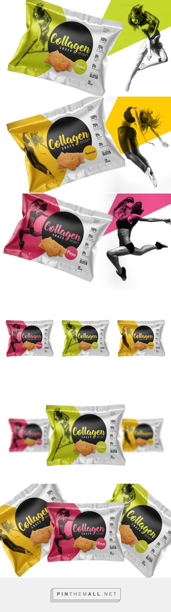 Collagen Snack (Concept) - Packaging of the World - Creative Package Design Gallery - http://www.packagingoftheworld.com/2017/07/collagen-snack-concept.html - created via https://pinthemall.net