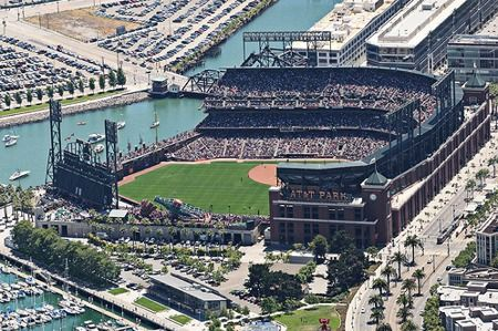 AT Park - history, photos and more of the San Francisco Giants ballpark