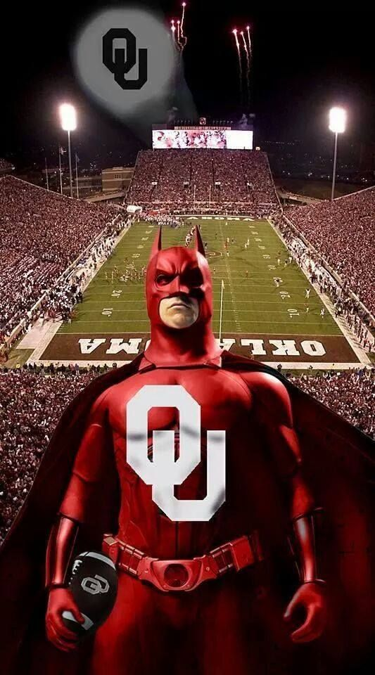 Batman & OU ~ LOVE IT!!!