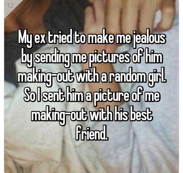 Oh my god my ex boyfriend gets jealous of my best friend